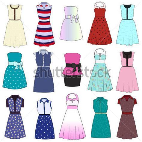 imagenes de vestidos faciles para dibujar vestido dibujado imagui