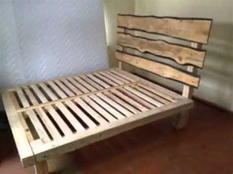 homemade futon homemade diy bed frame ideas youtube
