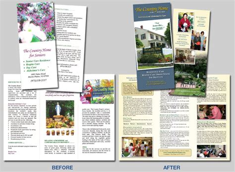 country brochure template hotel brochure sles