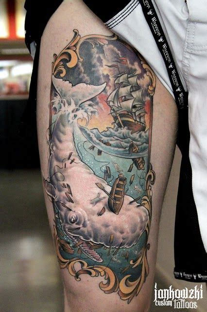 moby dick tattoo 44 best images about whale tattoos on