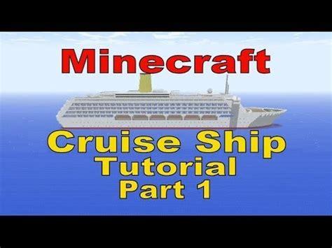 tutorial xcode 6 1 1 minecraft cruise ship tutorial part 1 youtube