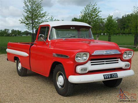 1958 Chevrolet Truck by 1958 Chevrolet Apache V8 Truck