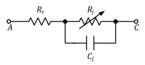 diode equivalent circuit model diode detector intgckts