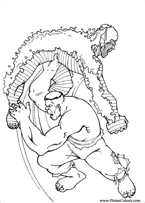 dibujos para pintar hulk desenhos para pintar e colorir hulk imprimir desenho 086