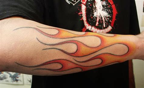 Tattoo Hot Rod Flames | fire tattoos