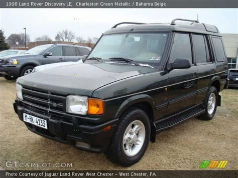 1998 land rover discovery interior charleston green metallic 1998 land rover discovery le