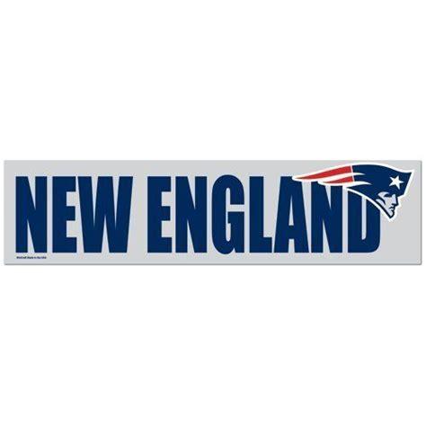Autoaufkleber New England Patriots by Nfl Football New England Patriots Bumper Sticker 2 Pack