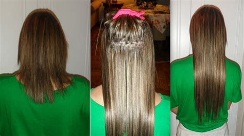 before after hair extensions before and after photos of hair extensions lash