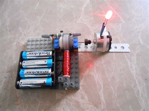 Electric Motor Experiment by Generator Experiments Simple Electric Motors