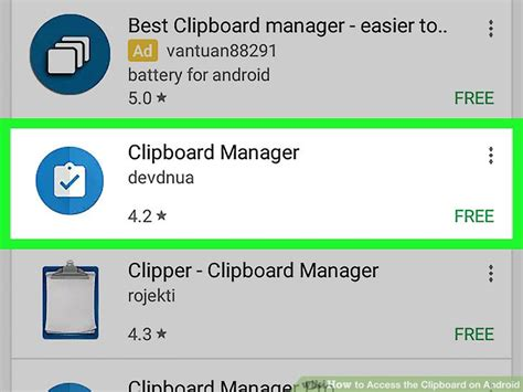 clipboard on android how to access the clipboard on android 9 steps with pictures