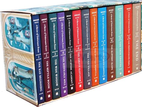 The Book Of Set lemony snicket a series of unfortunate events