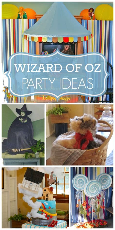 Richies Oz Themed Baby Shower by 1918 Best Wizard Of Oz Birthday Images On