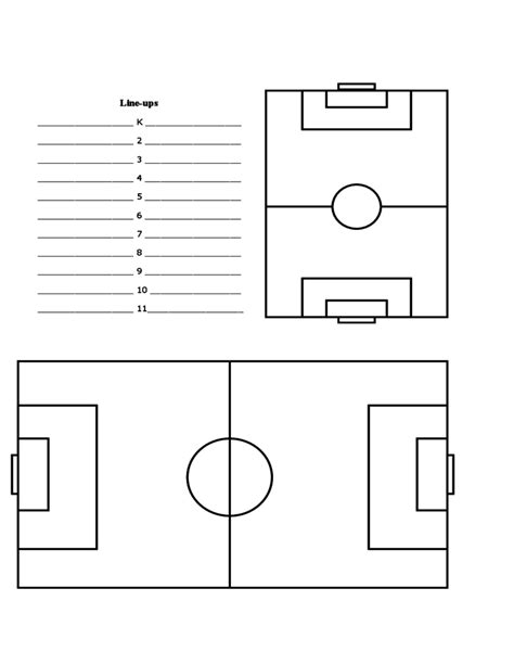 soccer lesson plan template soccer lesson plan form free