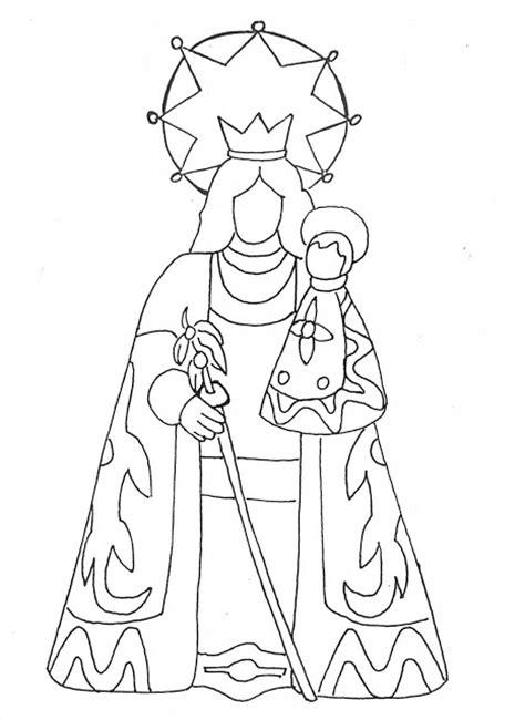 imagen virgen maria para pintar la virgen maria y jesus laminas para pintar