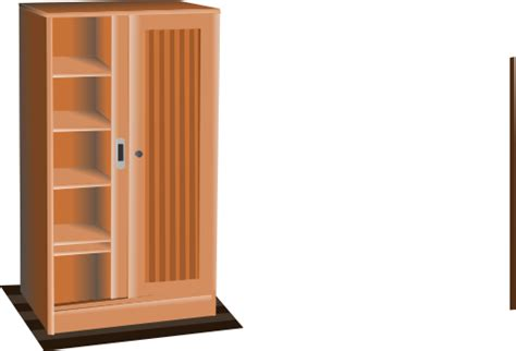 brown cupboard clipart i2clipart royalty free public