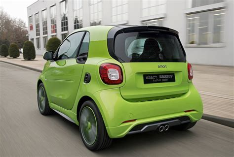 smart car green this green is the new smart brabus fortwo