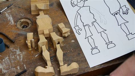 make all from wood making wooden marionettes project 1 parts 1 2 how