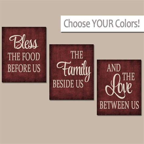 Kitchen Wall Art Canvas Or Prints Kitchen Quote Artwork Kitchen Canvas Wall Decor