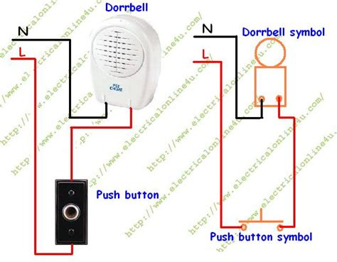 doorbell wiring diagram how to wire or install doorbell