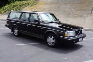 Volvo Wagon 240 For Sale Black 1990 Volvo 240 Wagon For Sale Photos Technical