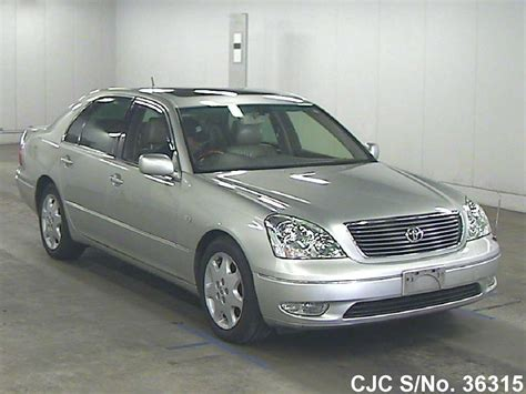 toyota celsior for sale 2000 toyota celsior silver for sale stock no 36315