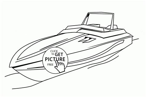 speed boat book speed boat coloring pages 2704187