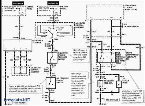 ford wiring diagrams ford f550 air conditioner diagram ford auto parts