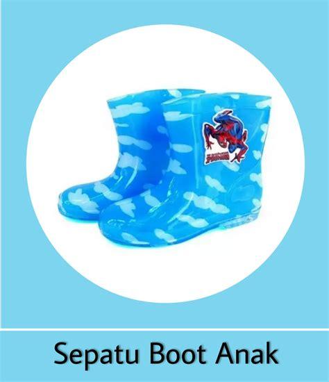 Sepatu Boot Anak 02 perlengkapan hujan toko bunda