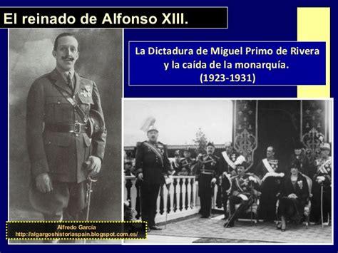 resumen de la biografia de alfonso x el sabio el reinado de alfonso xiii dictadura y caida 1923 1931