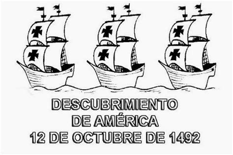 Im 225 Genes Infantiles Del Descubrimiento De Am 233 Rica Para Imagenes De Columbus Day For Coloring