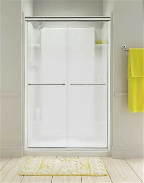 Sterling Finesse Shower Doors Sterling Finesse Frameless By Pass Shower Door At Menards 174