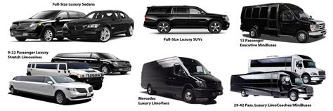 Car Types Of Service by Above All Transportation