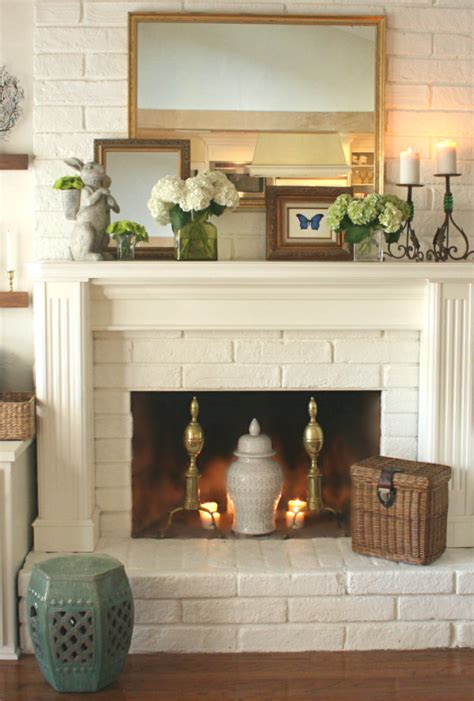Clever Fireplace Mantel Decor Ideas Pictures