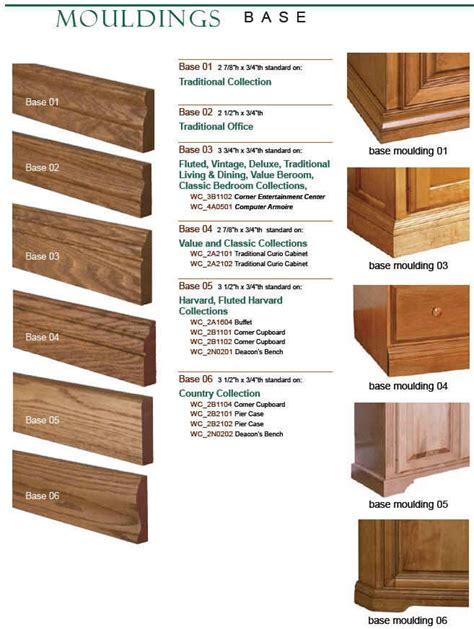 Kitchen Cabinet Base Trim by Base Base Moulding 8 Foot Custom Unfinished
