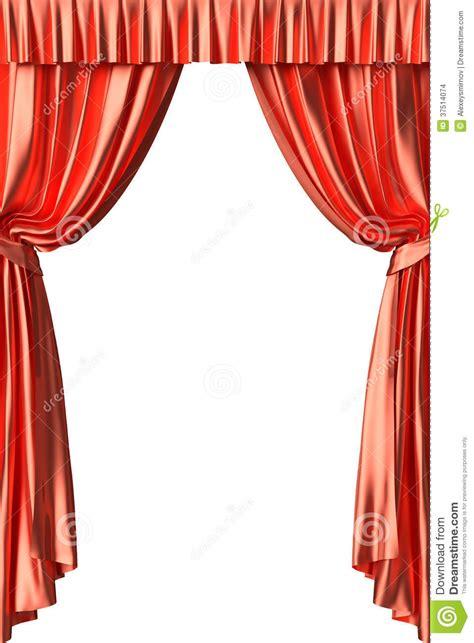 teatro tende a strisce roter theatervorhang auf wei 223 em hintergrund stockbilder