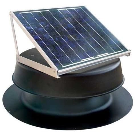 Solar Roof Light Light Safb 10 Watt Black Solar Attic Fan