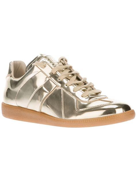 maison margiela sneakers maison martin margiela s metallic replica sneaker
