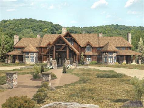 luxury log home floor plans best luxury log home large