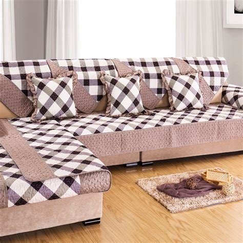 plaid couch covers online get cheap plaid couch covers aliexpress com