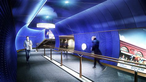 design museum london underground station nulty london underground station design idiom