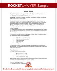 Template For Writing A Business Proposal Business Proposal Template Free Business Proposal Sample