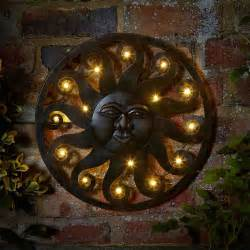 Led Decorative Lanterns Customer Reviews For Celestial Sun Wall Art With 12 Led