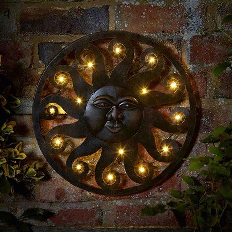 Garden Wall Ornaments Customer Reviews For Smart Garden Celestial Sun Led Wall