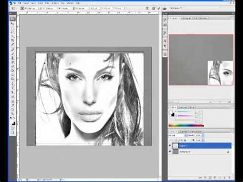 sketchbook or photoshop photoshop convert photo to pencil sketch