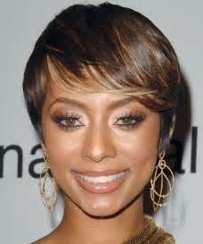 what type of hair does hilson keri hilson short straight formal hairstyle
