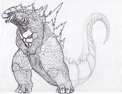 godzilla 2014 muto coloring pages coloring pages
