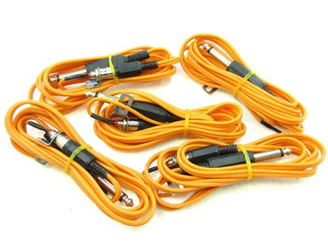 tattoo clip cord 5 hurricane heavy duty 8 foot clip cord with rca