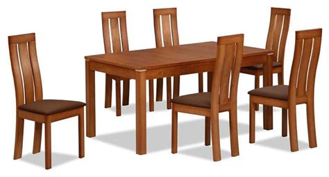 extendable designer table and chairs set