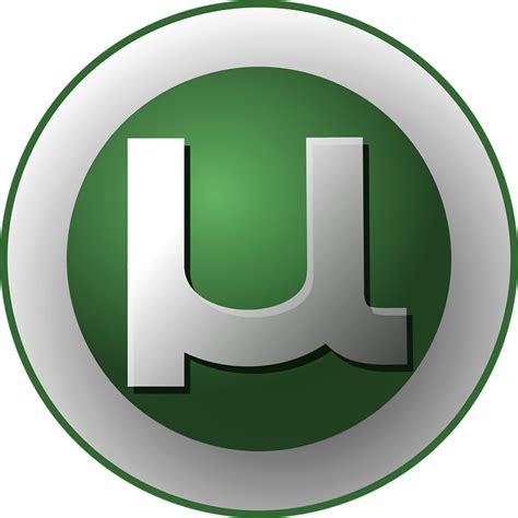 blue utorrent free vector graphic torrent utorrent logo bittorrent