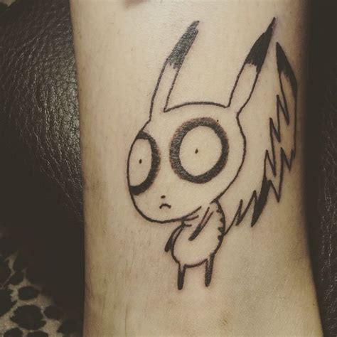 pikachu tattoo 90 best images about nerdy tattoos on